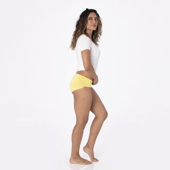 Solid Women's Classic Brief in Zest