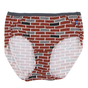 Print Women's Classic Brief in London Brick