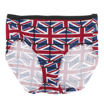 Print Women's Classic Brief in Union Jack