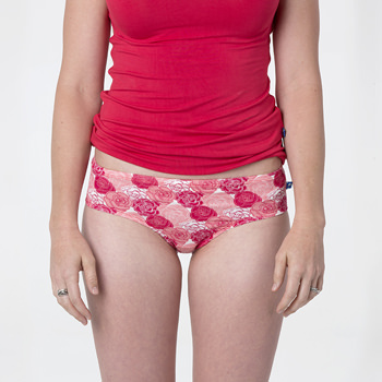 Print Women's Underwear in Roses