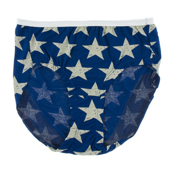 Print Women's Classic Brief in Vintage Stars