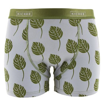 Men's Boxer Brief in Dew Philodendron