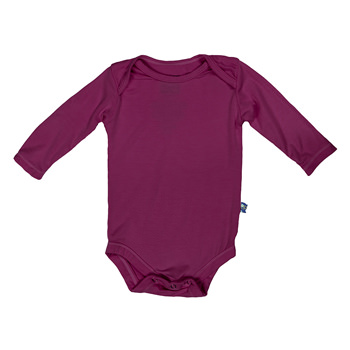 Basic Long Sleeve One Piece in Orchid