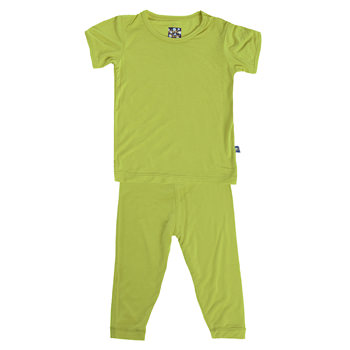 Basic Short Sleeve Pajama Set in Meadow