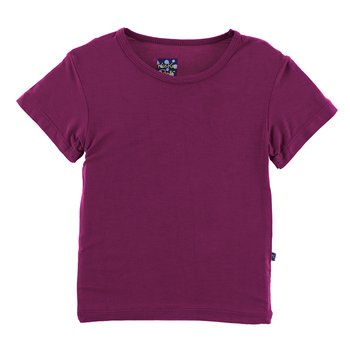 Basic Short Sleeve Tee in Orchid
